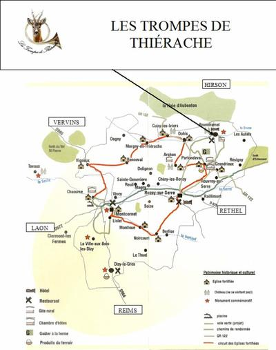 L'ASSOCIATION : LES TROMPES DE THI�RACHE