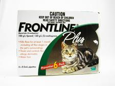 Cures Fleas By Buying Frontline Plus For Cats 6 Month Pack
