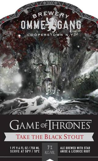 Review: Ommegang Game Of Thrones #2 - Take the Black Stout