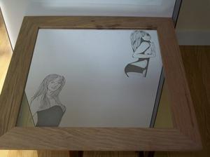 Articles de lili gravure tagg s gravure sur miroir la for Gravure sur miroir