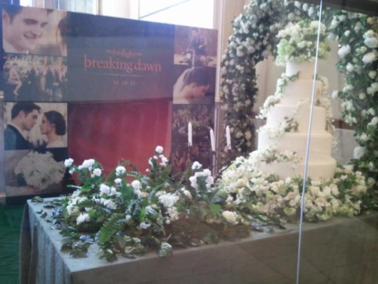 gateau de mariage de bella edward